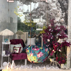 Styling With Textile: Visual Merchandising at Sham Emporium