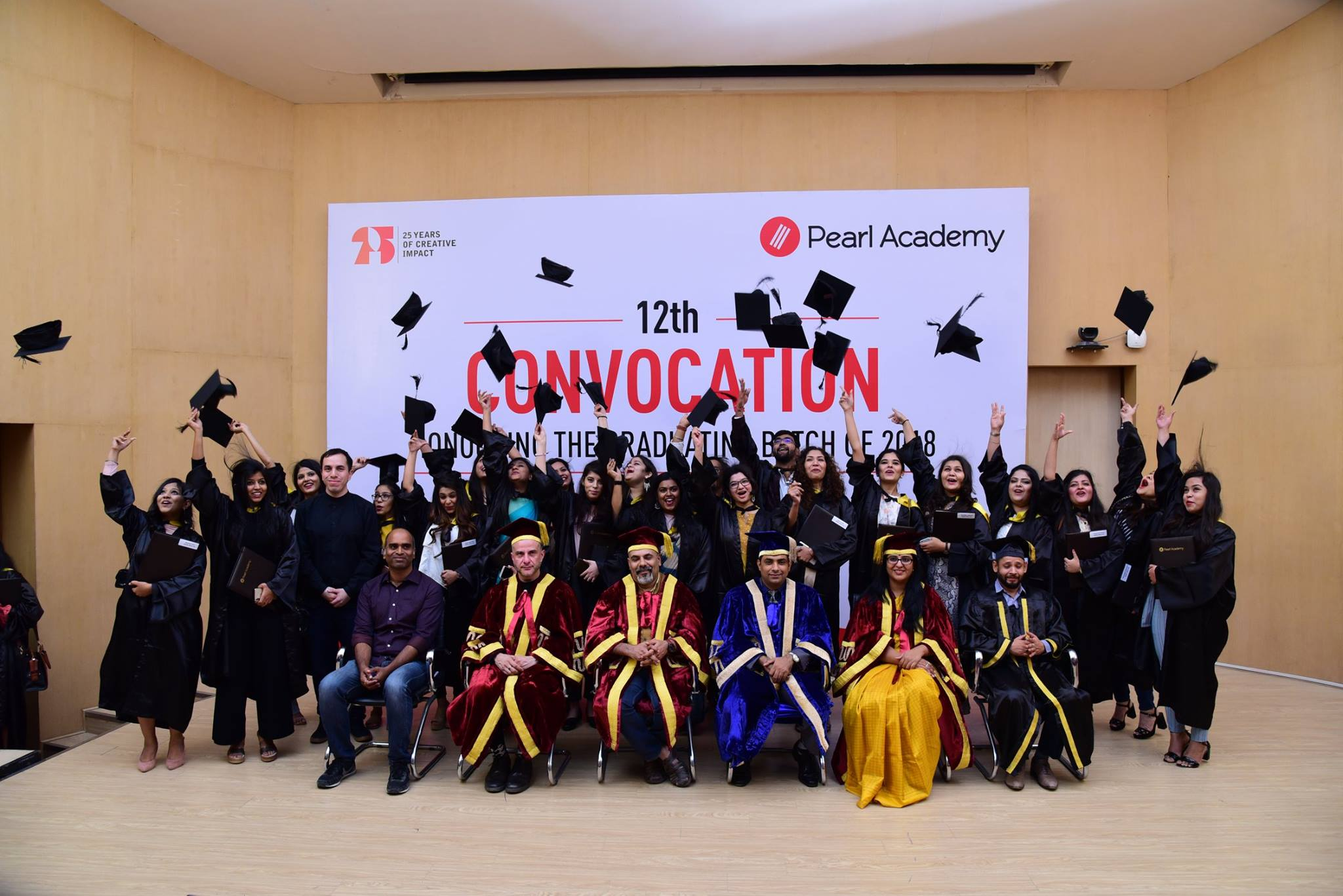 Pearl Convocation Jaipur Campus 2018
