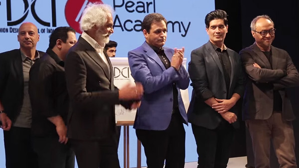 Fashion Design Council of India collaboration with Pearl Academy event