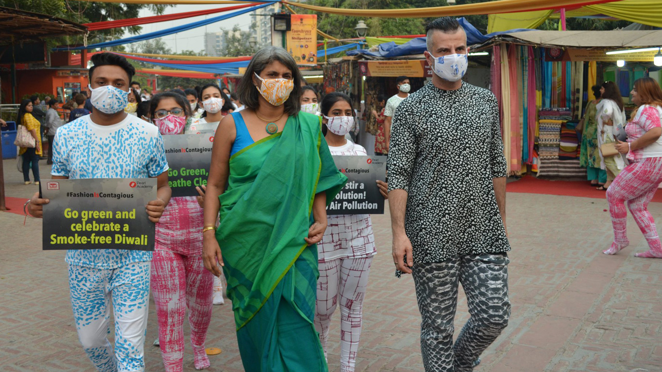 #FashionIsContagious - A Fashion March Against Air Pollution