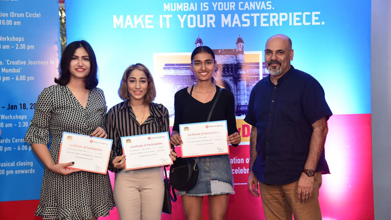 Pearl Academy hosts #MumbaiByDesign, a student led design festival