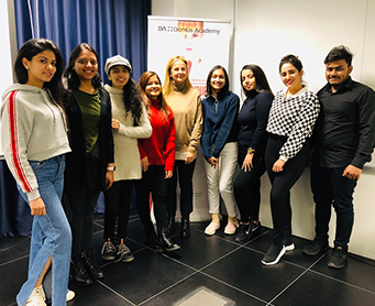PG Fashion Business Management students at Domus Academy, Italy.