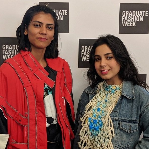 Amanpreet Kaur and Neha Khan showcased at The Graduate Fashion Week, London
