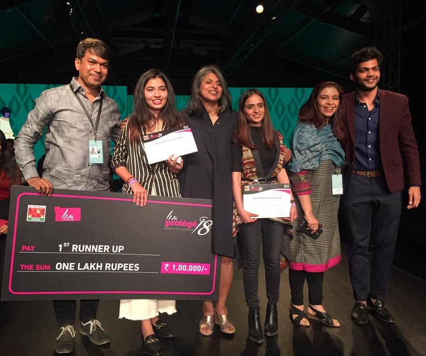 Aditi Vij and Nishtha Sethi on bagging the 1st runner-up position and the most innovative collection award
