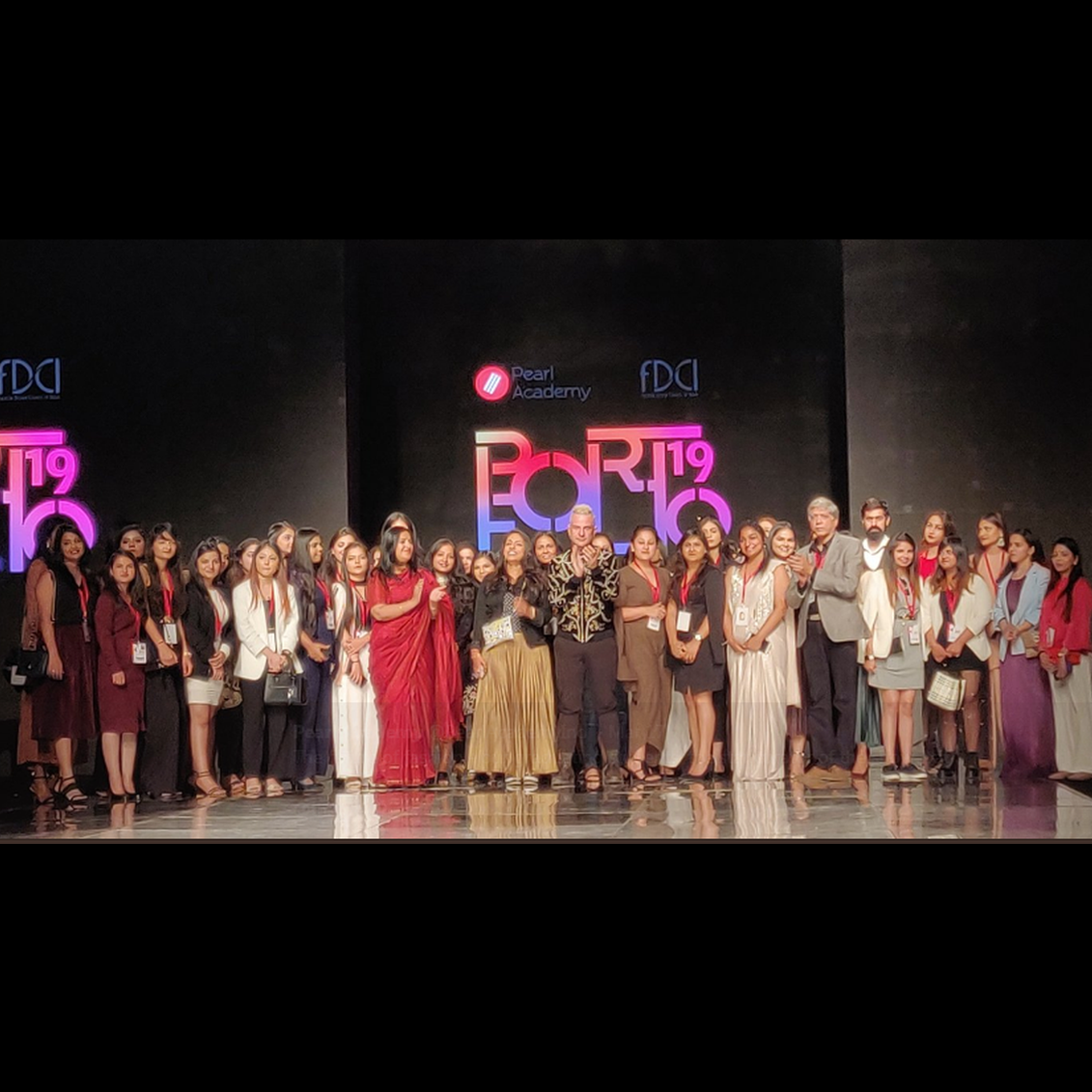 Pearl Portfolio Showcases the Future of Fashion at Lotus India Fashion Week 2019. - Outlook, March, 2019