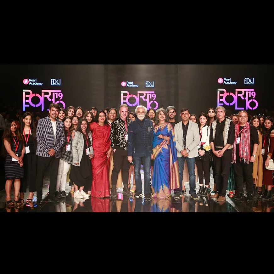 Budding Designers from Pearl Academy Showcase Future of Fashion at FDCI's Lotus Make-up India Fashion Week 2019 - Times of India, March 2019