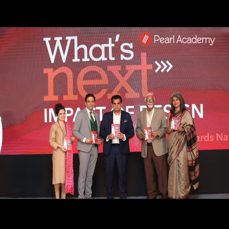 Design and Innovation is the Next Big Thing, says Niti Aayog CEO Amitabh Kant at a confluence hosted by Pearl Academy - TOI, March 2019