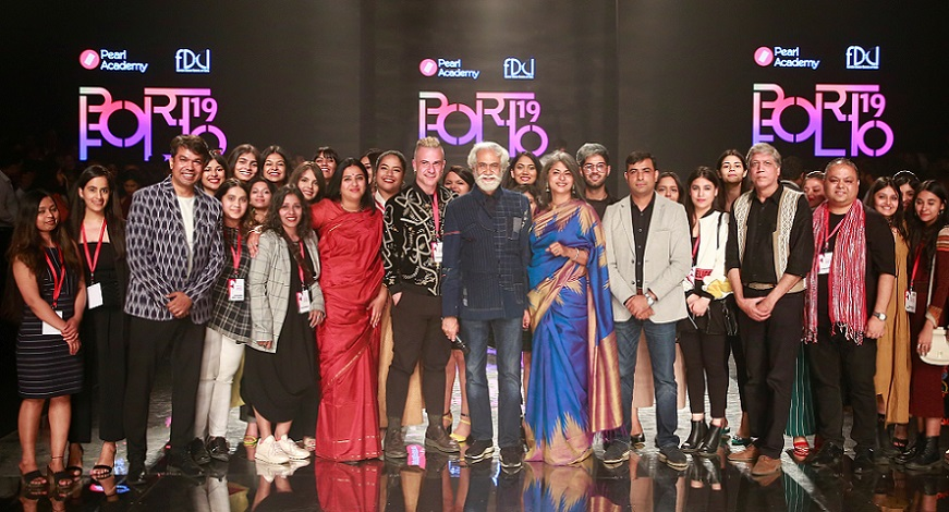 Pearl Portfolio showcases the future of fashion at Lotus India Fashion Week 2019
