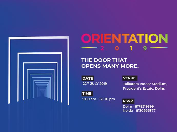Orientation Day – Delhi & Noida