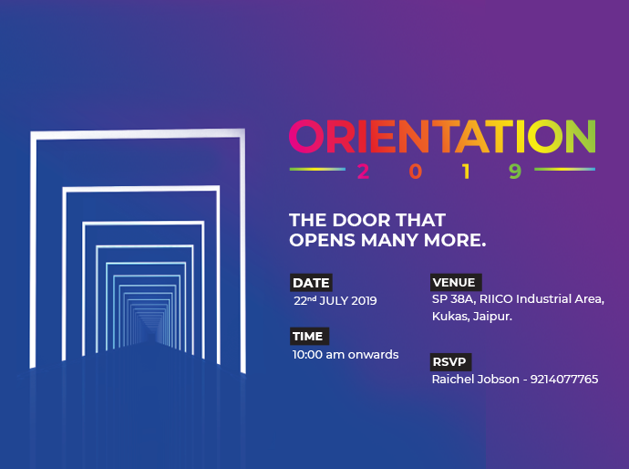 Orientation Day – Jaipur