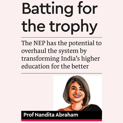 Batting for the trophy - Financial Express, July 2019