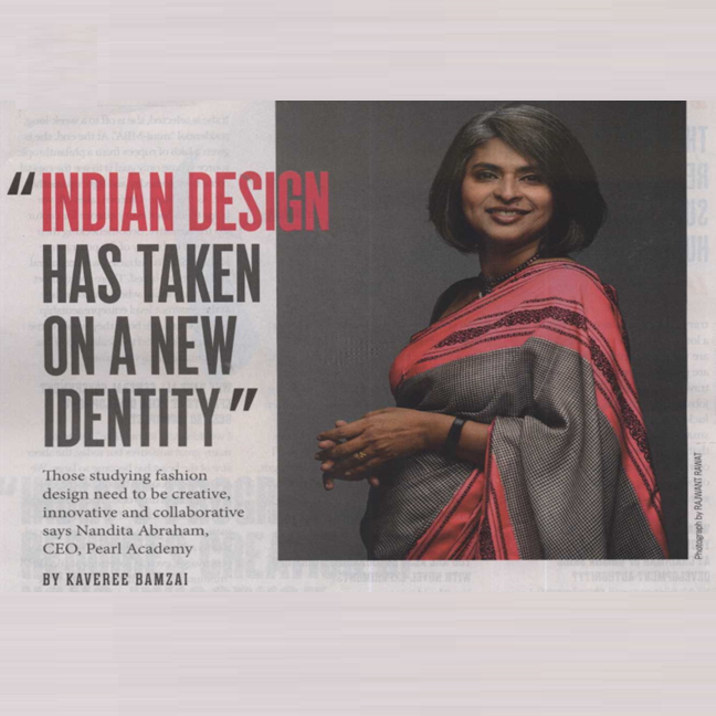 Indian Design has taken on a new identity - India Today Aspire, June, 2018