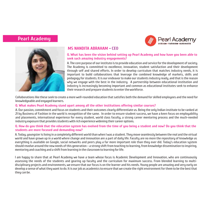 MS Nandita Abraham - CEO, MESC Magazine, June, 2018