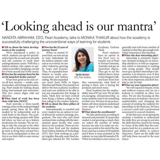 Looking ahead is our mantra - The Pioneer, June, 2018