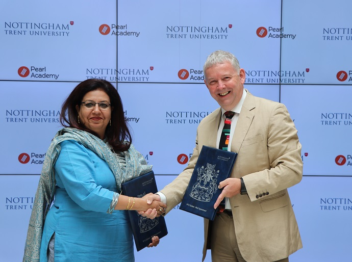 Enhanced collaboration with Nottingham Trent University