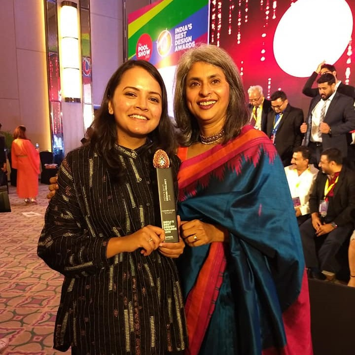 Alumna Ashita Singhal won India's Best Design Award