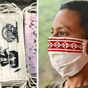 Mask-up in Sustainable Style, While Supporting Amazing Artisans from Across India