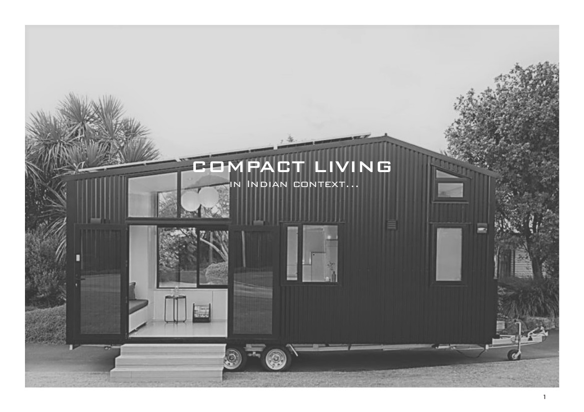 Compact Living in Indian context...