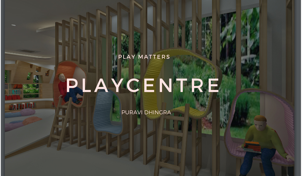 Play Matters- Play Centre Design