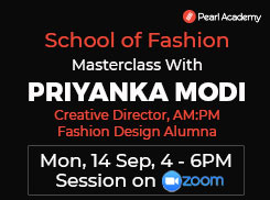 Exclusive chance to interact with Priyanka Modi, Creative Director AMPM.
